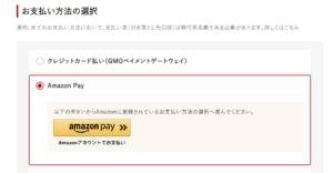 ふるさとチョイス AmazonPay 決済